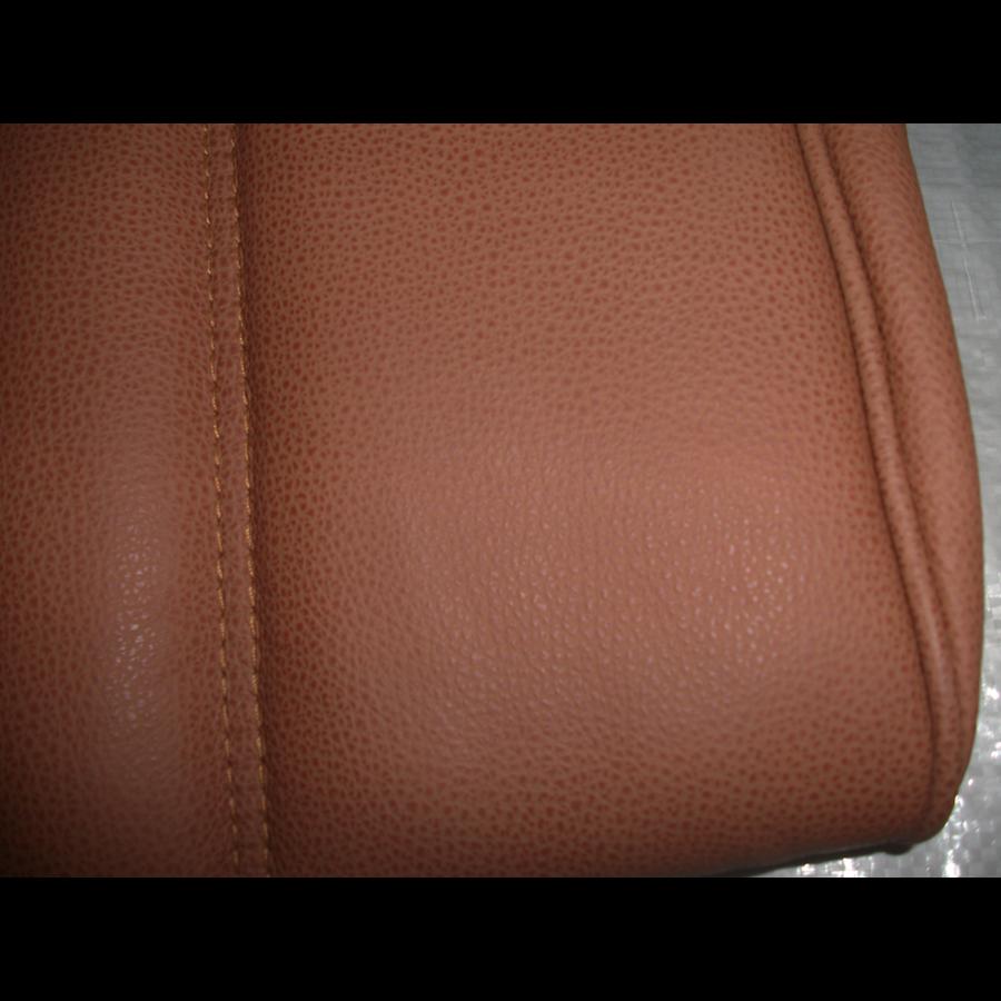 Garniture origine banquette AR BK cuir tabac (assise 1 pièce dossier 1 pièce) Citroën ID/DS-4