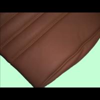 thumb-Garniture origine banquette AR BK cuir tabac (assise 1 pièce dossier 1 pièce) Citroën ID/DS-6