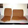 ID/DS Garniture origine banquette AR BK (en 2 pieces) cuir tabac (assise 2 pièces dossier 2 pièces) Citroën ID/DS