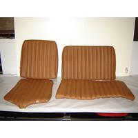 thumb-Garniture origine banquette AR BK (en 2 pieces) cuir tabac (assise 2 pièces dossier 2 pièces) Citroën ID/DS-2