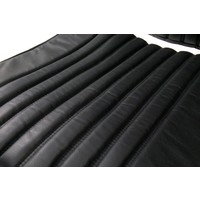 thumb-Front seat cover black leather Citroën ID/DS-2
