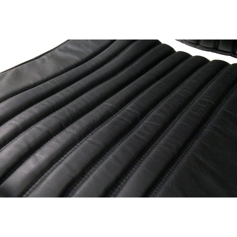 Front seat cover black leather Citroën ID/DS-2