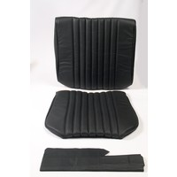 thumb-Front seat cover black leather Citroën ID/DS-1