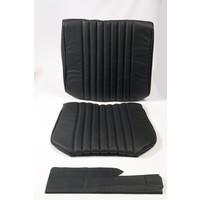 thumb-Voorstoelhoes zwart leer Citroën ID/DS-1