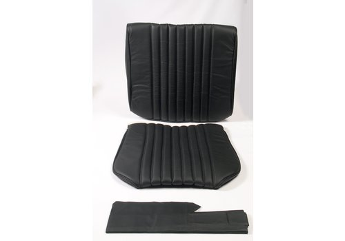 ID/DS Front seat cover black leather Citroën ID/DS