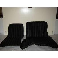 thumb-Rear bench cover black leather safari Citroën ID/DS-1