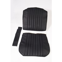 thumb-Front seat cover black leather for foam back Citroën ID/DS-1