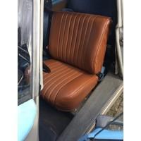 thumb-Original Sitzbezug Satz für Vordersitz Targa-bezogen dunkelbraun (Sitz Rückenlehne Abschlussfüllung für Schaum-Rücken) Citroën ID/DS-5