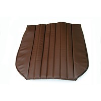 thumb-Front seat cover only sitting part brown leatherette Citroën ID/DS-1