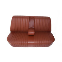thumb-Rear bench newly trimmed in brown leatherette Citroën ID/DS-2