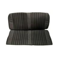thumb-Garniture origine banquette AR BK simili noir (assise 1 pièce dossier 1 pièce) Citroën ID/DS-2