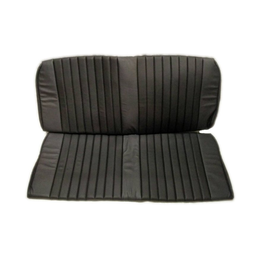 Garniture origine banquette AR BK simili noir (assise 1 pièce dossier 1 pièce) Citroën ID/DS-2