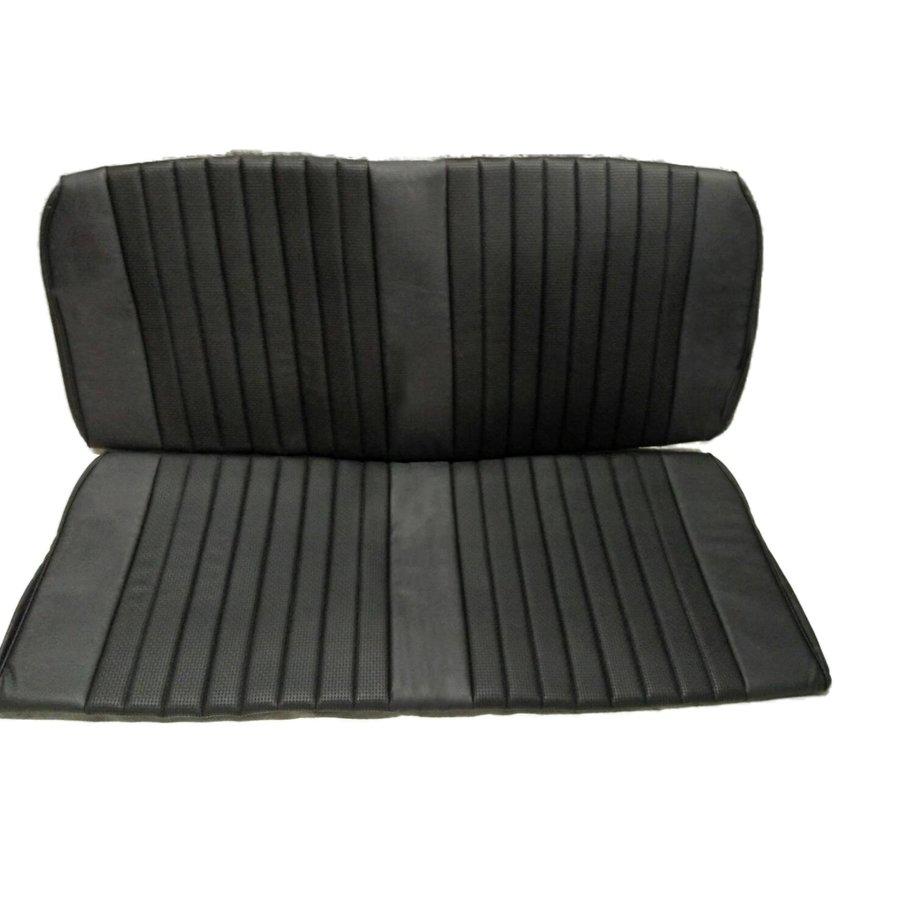 Garniture origine banquette AR BK simili noir (assise 1 pièce dossier 1 pièce) Citroën ID/DS-3