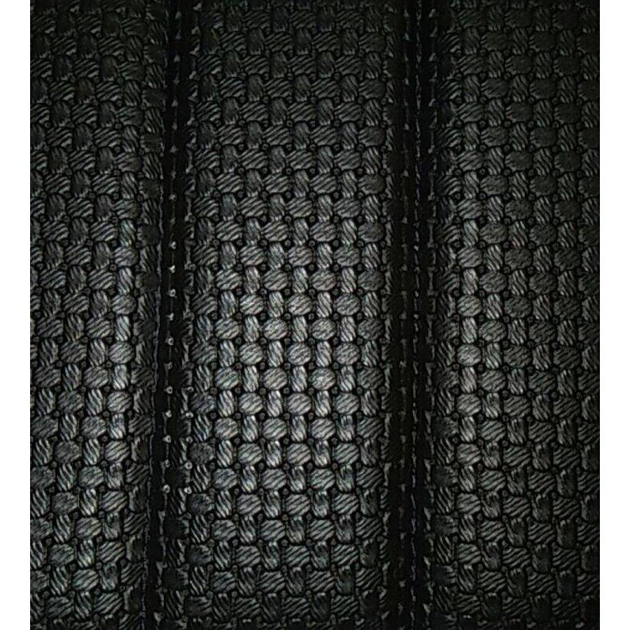 Garniture origine banquette AR BK (en 2 pieces) simili noir (assise 2 pièces dossier 2 pièces) Citroën ID/DS-1