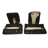 thumb-Garniture origine banquette AR BK (en 2 pieces) simili noir (assise 2 pièces dossier 2 pièces) Citroën ID/DS-6