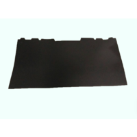 thumb-Rear bench backing in black plastic Citroën ID/DS-3