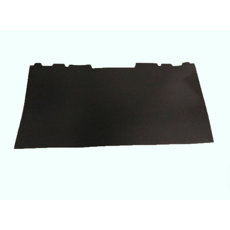 Rear bench backing in black plastic Citroën ID/DS-3