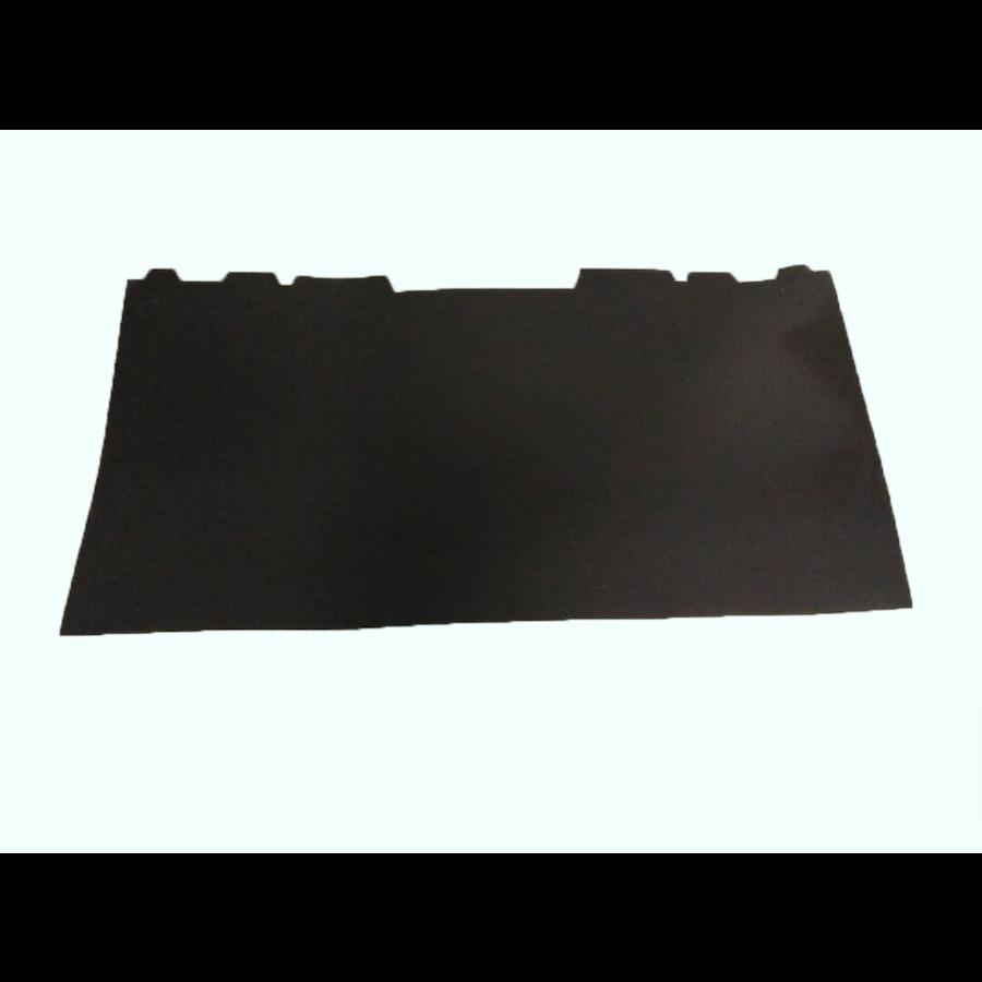 Garniture fixée contre l'AR de la banquette AR BL noir (525 x 1000) Citroën ID/DS-4