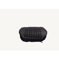thumb-Front seat cover only sitting part black leatherette Citroën ID/DS-1