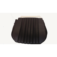 thumb-Front seat cover only sitting part black leatherette Citroën ID/DS-3