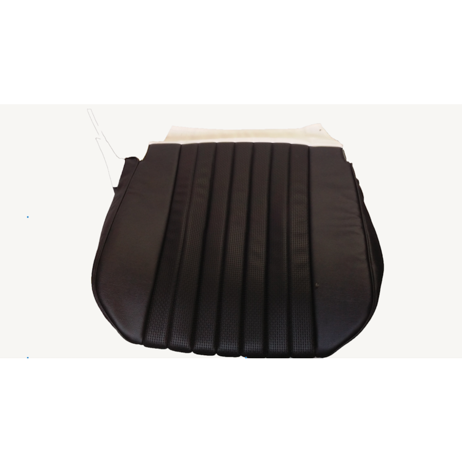 Front seat cover only sitting part black leatherette Citroën ID/DS-3