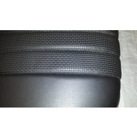 thumb-Rear bench newly trimmed in black leatherette Citroën ID/DS-2