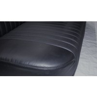 thumb-Rear bench newly trimmed in black leatherette Citroën ID/DS-3