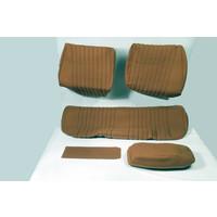 thumb-Sitzbezugsatz für Hinterbank Stoff ocker (1 Farbton): Sitz 1 Teil Rückenlehne 4 Teile Citroën ID/DS-1