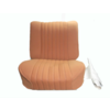 ID/DS Front seat cover pallas 70-73 ocher cloth Citroën ID/DS