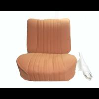 thumb-Garniture siège AV PA en étoffe jaune (partie centrale en deux tons) pour assise + dossier Panneau de fermeture en simili blanchâtre Citroën ID/DS-1
