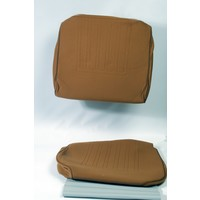 thumb-Satz für Vordersitzbezug Stoff-bezogen ocker (1 Farbton): Sitz + Rückenlehne + Abschlussfüllung in weißemTarga Waffel-Modell Citroën ID/DS-1