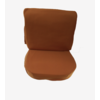 ID/DS Front seat cover old model ocher cloth Citroën ID/DS