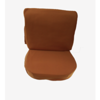 thumb-Front seat cover old model ocher cloth Citroën ID/DS-1