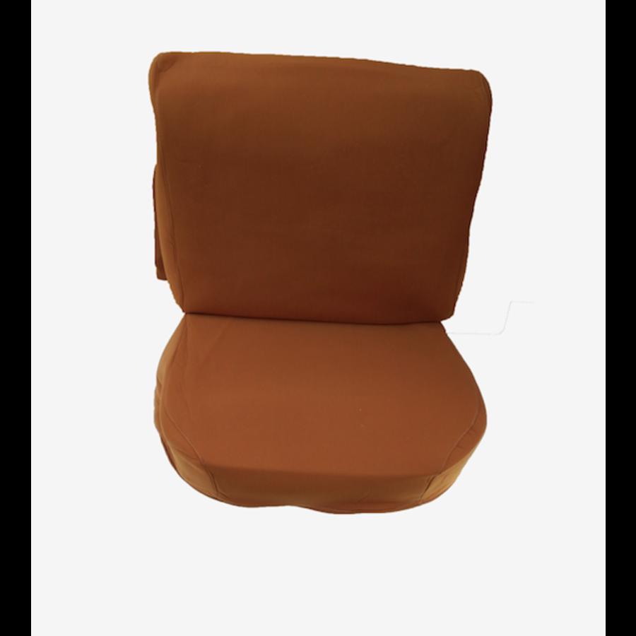 Garniture sièges AV en étoffe ocre Citroën ID/DS-1