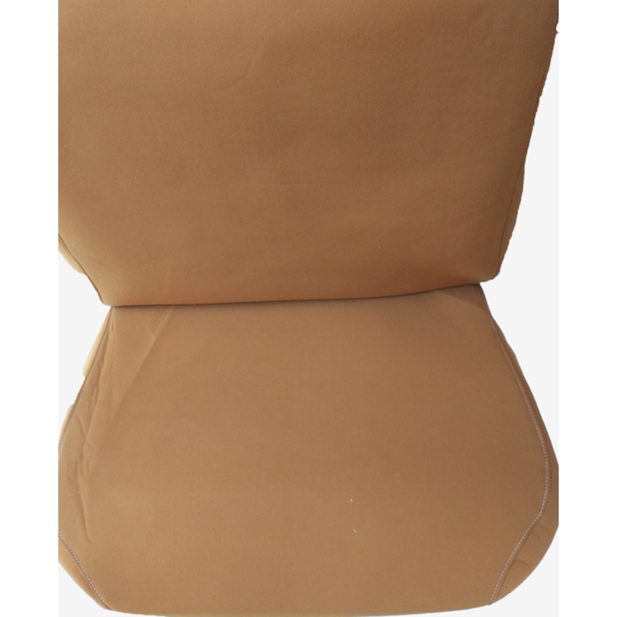 Front seat cover old model ocher cloth Citroën ID/DS-3