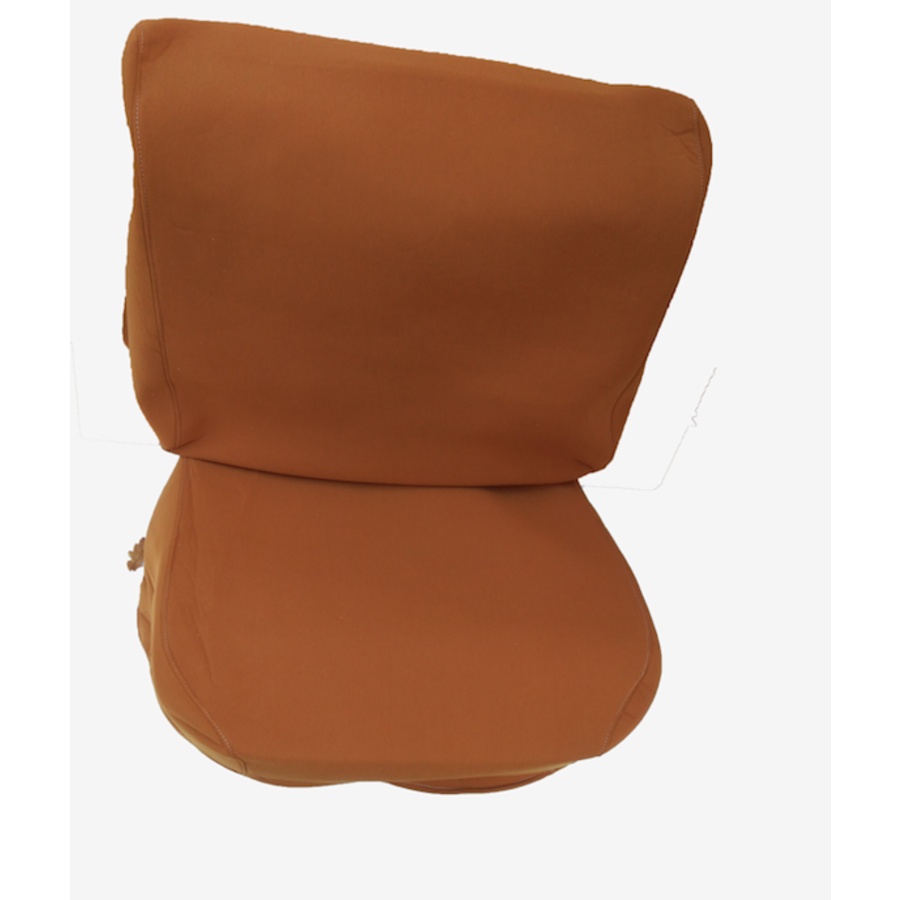 Front seat cover old model ocher cloth Citroën ID/DS-4