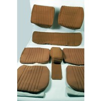 thumb-Set of seat covers for 1 car pallas from from 69 ocher cloth Citroën ID/DS-2