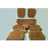 ID/DS Set of seat covers for 1 car pallas 70-73 ocher cloth Citroën ID/DS
