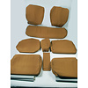 ID/DS Set of seat covers for 1 caruperpecial ocher cloth Citroën ID/DS