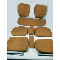 thumb-Set of seat covers for 1 caruperpecial ocher cloth Citroën ID/DS-1