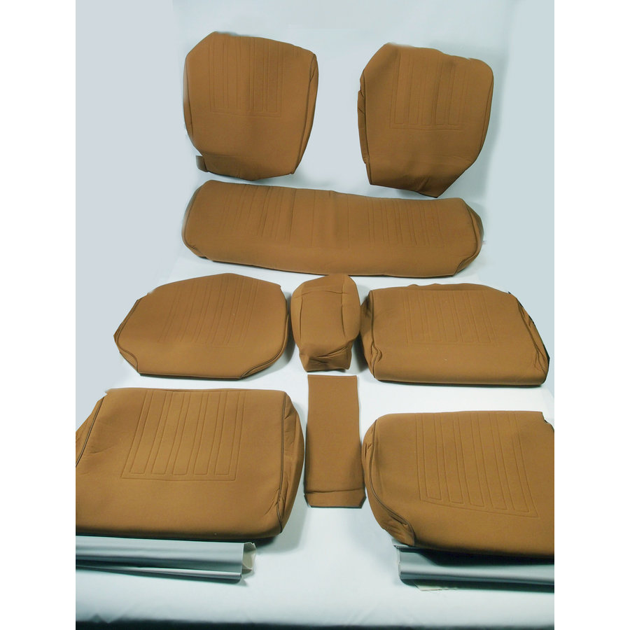 Set of seat covers for 1 caruperpecial ocher cloth Citroën ID/DS-1
