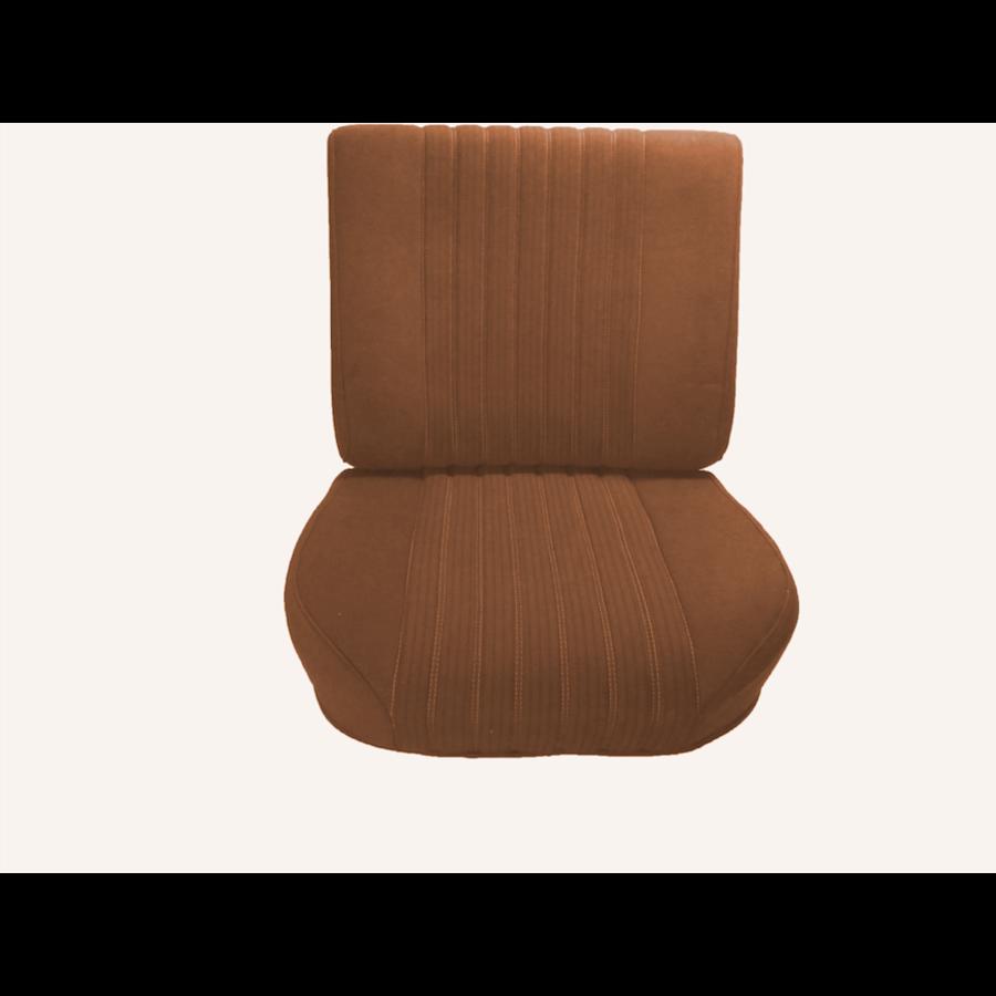 Voorstoelhoes oker stof gemonteerd Citroën ID/DS-1