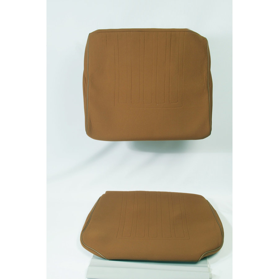 Front seat coveruperpecial caramel cloth Citroën ID/DS-1
