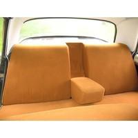 thumb-Garniture complète (2 sièges AV + 1 banquette AR) en étoffe caramel unie imprimé gauffre Citroën ID/DS-3