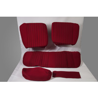 thumb-Rear bench cover pallas 70-73 red cloth Citroën ID/DS-2