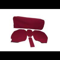 thumb-Garniture pour banquette AR en étoffe rouge écarlate accoudoir large Citroën ID/DS-3