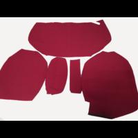 thumb-Garniture pour banquette AR en étoffe rouge écarlate accoudoir étroit Citroën ID/DS-4