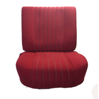 thumb-Front seat half mounted pallas 70-73 red cloth Citroën ID/DS-1
