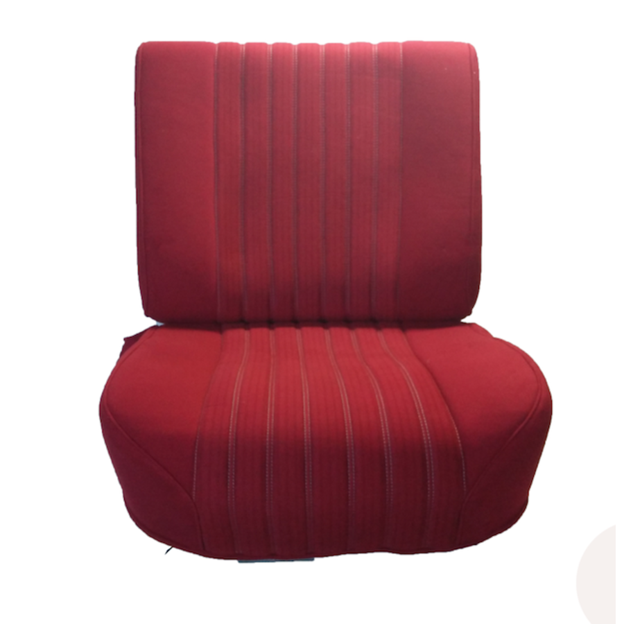 Front seat half mounted pallas 70-73 red cloth Citroën ID/DS-1