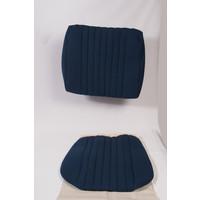 Voorstoelhoes blauw stof Pallas vanaf 69 Citroën ID/DS